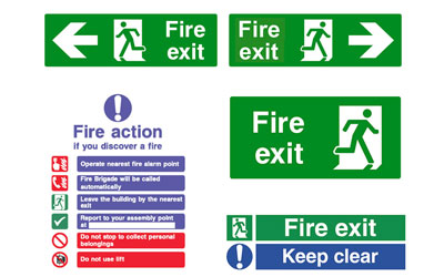 Fire Safety Signage North Devon