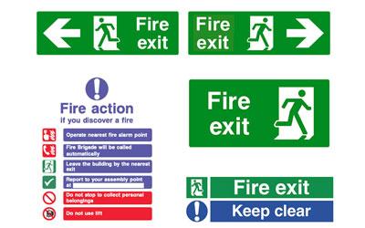 Fire Safety Signage North Devon