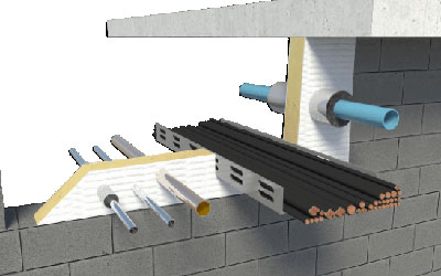 Scope increase iso9001 passive fire stopping fire for Mineral wool firestop